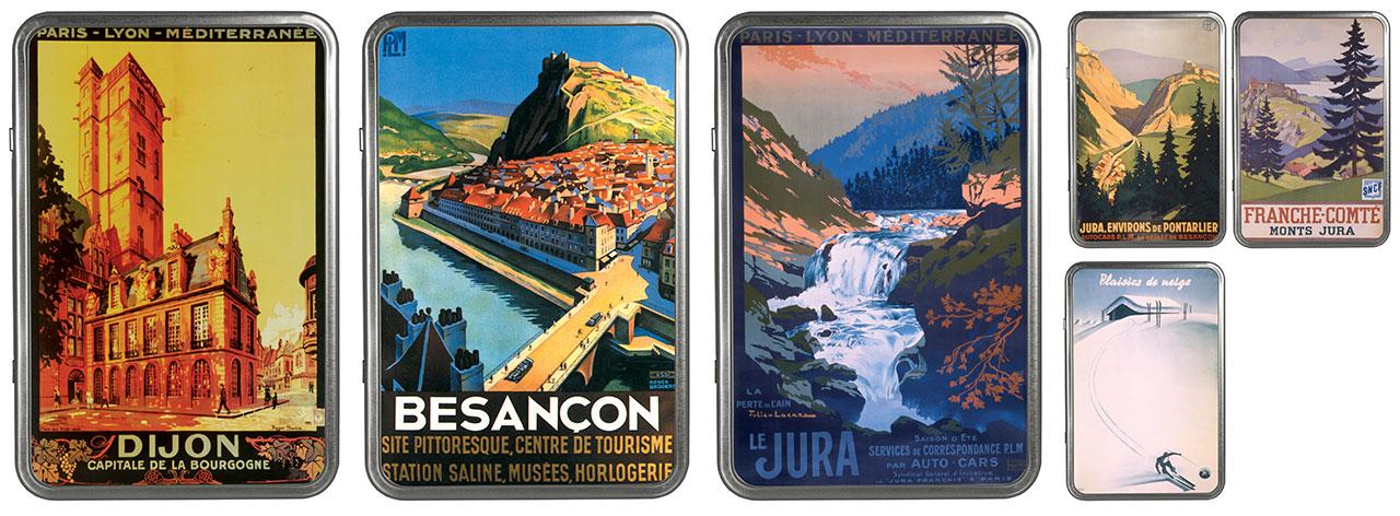 Sélection du patrimoine - Collection : Bourgogne - Franche comté